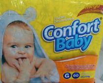 Fraldas Confort Baby G Pacotão Econômico C/ 60 Und -