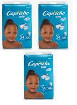 Fraldas Descartáveis-Capricho Baby-XXG 162 Unidades -