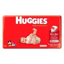 Fraldas Huggies Supreme Care M 40 U -