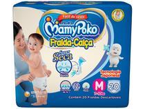 Fraldas MamyPoko Calça Tam. M - 7 a 10kg 20 Unidades