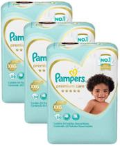 Fraldas Pampers Premium Care 72 XXG