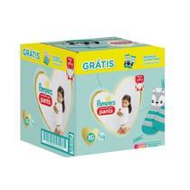 Fraldas Pampers Premium Care Pants 52 XG + Meias Puket -
