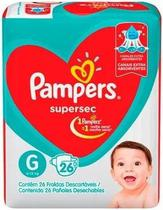 Fraldas Pampers Supersec G Atacado Barato