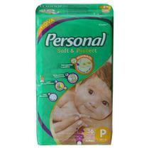 Fraldas Personal Soft & Protect P 36 U -