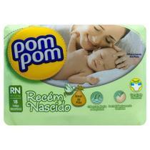 Fraldas Pom Pom Amor De Mãe Rn 18 U - Pompom