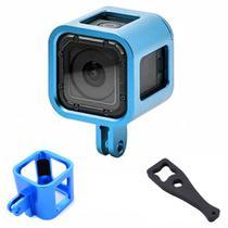 Frame Armação para GoPro Session 4,5 - azul - Shoot