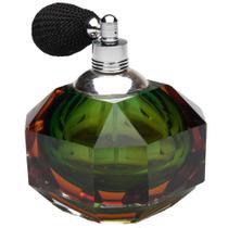 Frasco Para Perfume Com Borrifador Prestige Vidro Optico Verde - Rojemac -