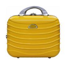 Frasqueira de viagem com alça carona Itália amarelo cruzeiro -