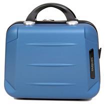 Frasqueira rígida em abs, maleta de mão para viagem, necessaire para maquiagem - Santino -