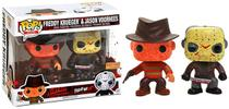 Freddy Krueger  Jason Voorhess - Pop! - Funko - Horror - Box Lunch Exclusive - 2 Pack