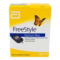 FreeStyle Optium Neo Kit Monitor de Glicemia com 1 Aparelho + 10 Lancetas + 1 Lancetador + Estojo + 1 Cabo Micro USB -