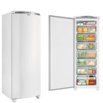 Freezer Consul Vertical Branco  Degelo Manual 246L 110V CVU30EBANA