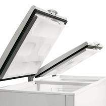 Freezer e Refrigerador Horizontal Metalfrio (Dupla Ação) 2 tampas 546 litros DA550 220V 220V -