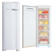 Freezer Electrolux 1 Porta Vertical 173 Litros Branco Cycle Defrost 220v -