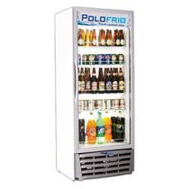 Freezer Expositor Vertical 370 Litros Branco Bebidas Em Geral - Polofrio (110v) -