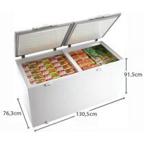 Freezer Horizontal 385l H400 Branco - Electrolux -