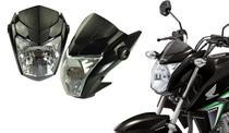 Frente Farol Completa Bloco Ótico Carenagem Frontal + Bananinha Lateral Honda Cg Titan 160 Ks Es Esd Ex 2016 2017 2018 2019 2020 - SPORTIVE