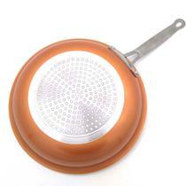 Frigideira 28 cm Revestimento Antiaderente Panela Ceramica Titanio Nao Gruda Titanium Sem Oleo - Goldchef