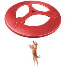 Frisbee Brinquedo Cães Disco Voador em PP 25 cm Furacão Pet -