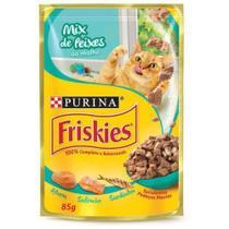 Friskies Sache Mix De Peixes Ao Molho 85 Gr - Nestlé Purina -