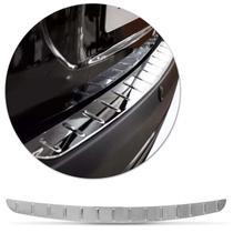 Friso Adesivo Traseiro Protetor de Porta Malas Cromado 89x6cm Apoio de Mala - Flash