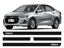 Friso Borrachão Lateral Chevrolet Onix Plus 2020 2021 -