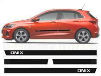 Friso Borrachão Lateral Onix Hatch Nova Geração 2020 2021 - Chevrolet