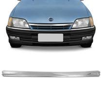 Friso Central Cromado Moldura da Grade Chevrolet Omega e Suprema 1993 a 1998 Encaixe Sob Medida - Apa