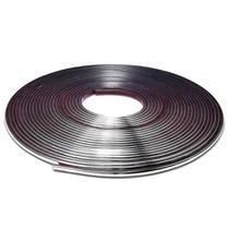 Friso Cromado Tuning 07mm Grade Porta Para-choque Porta Mala Filete Universal Rolo 12m - Mediterraneo