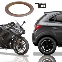 Friso De Roda Adesivo Não Refletivo Carro E Moto Honda Yamaha Suzuki  Branco - Cobra Motoparts
