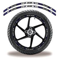 Friso de roda adesivo refletivo cb twister roxo - Cobra Motoparts
