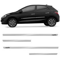 Friso Lateral HB20 Hatch 2013 a 2020 Cromado Slim 4 Portas - Shekparts