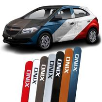 Friso Lateral na Cor Original Chevrolet Onix 2012 13 14 15 16 17 18 19 - Montreal