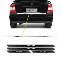 Friso Porta-Malas Astra Hatch Sedan + Kit Soleira Protetora - SPORTINOX