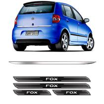 Friso Porta-Malas Fox 2004 Até 2011 + Kit Soleira Protetora - Sportinox
