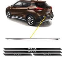 Friso Porta-Malas Nissan Kicks + Kit Soleira Protetora - SPORTINOX