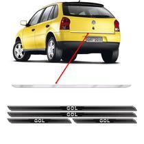 Friso Porta-Malas Volkswagen Gol G4 + Kit Soleira Protetora - Sportinox