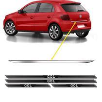 Friso Porta-Malas Volkswagen Gol G6 + Kit Soleira Protetora - Sportinox