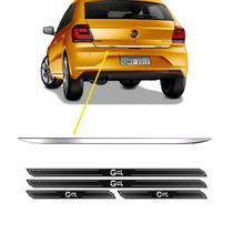 Friso Porta-Malas Volkswagen Gol G7 + Kit Soleira Protetora - Sportinox