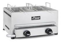 Fritadeira A Gás Com 2 Cubas E 2 Queimadores Fire -