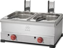 Fritadeira a Gás de 2 Cubas com 6 Litros Cada - Marchesoni -