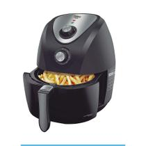 Fritadeira Air Fry Inox Saúde PH3,2L Philco Preta -