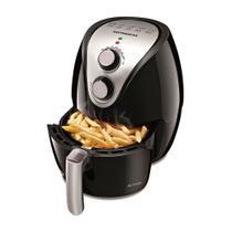 Fritadeira Air Fry Mondial 2.4L 1270w Preto e Inox -