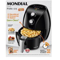 Fritadeira Air Fry Mondial 2.4L 1270w -