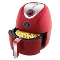 Fritadeira Air Fry Philco Saúde PH3.2L Inox/Vermelha - 127V -