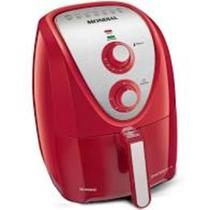 Fritadeira air fryer 5l grand family inox vermelho 220v - Mondial