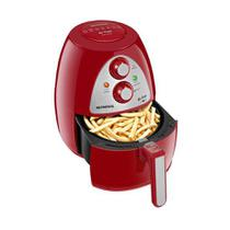 Fritadeira Air Fryer AF-14 Inox 3,2 litros Red Mondial 220v -