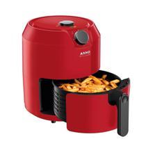 Fritadeira Air Fryer Arno Super RFry 1400W Cesta 4,2L, Temperatura de Até 200C, Vermelha 110V -