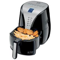 Fritadeira Air Fryer  Digital Premium Mondial Sem Oleo Air Fryer Af-04 Preto - 127V -