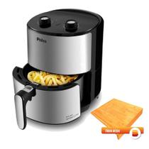 Fritadeira Air Fryer Philco 3,2L Inox 127V com Tabua Media Bela Home -